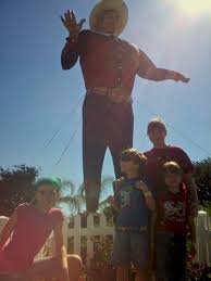 Big Tex The Day Before His Unfortunate Accident Two Years Ago