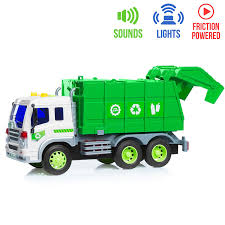 100 Garbage Truck For Kids Amazoncom Friction Powered Toy With Lights Sounds