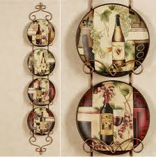 Kitchen Awesome Wine Decor Sets For Cheap Six Circle Marvellous