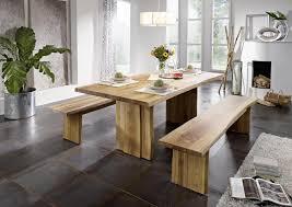 wangentisch 260x100 wildeiche massiv esstisch baumkante vollholz eiche geölt