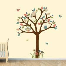 Owl Bedroom Wall Stickers by Nursery Wall Decal Owl Tree Decal Owl Art Owl Tree Wall Sticker