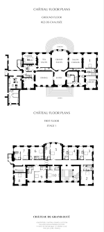 Chateau Floor Plans Hotel Château Du Grand Lucé Mansion Floor Plan Hotel