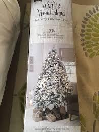 Stunning 7ft Winter Wonderland Christmas Tree
