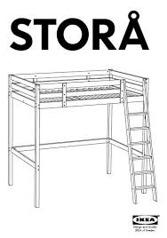 Kura Bed Instructions by Ikea Storage Bed Assembly Instructions Storage Decorations