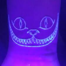 Alice In Wonderland UV Ink Tattoo Designs