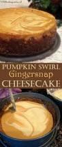 Pumpkin Cheesecake Gingersnap Crust Bon Appetit by Olive Garden Pumpkin Cheesecake Desserts Cheeesecake It