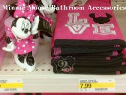 Mickey And Minnie Bathroom Sets by Minnie Mouse Bathroom Decor Genwitch