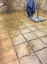 Patio Slabs by Cotswold Buff Patio Paving Slabs Riven Surface 400x400 Approx