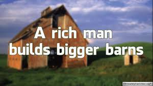 Rich Man Builds Bigger Barns - Sunday School Lesson - YouTube 238 Best Barns And Farm Buildings Images On Pinterest The Round 1956 Country Barns Life Album Covers With A Barn Or Page 5 Miscellaneous Music I Have An Obsession Old Skies Hence This Do Not Own Any Of The Soundtrack Property Rights For Audio Bngarage Refinished Board Batten Metal Roof 186 Old 954 Painted Quilts Barn Art My Trip To Noble Songs Youtube Wongies Music World Wongie Indie Songs Of The Week Best 25 Weddings Ideas Reception