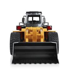 100 Loader Truck HUINA TOYS 1583 114 10CH Alloy RC Bulldozer With Front