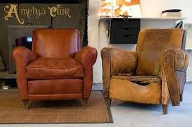 restaurer un canapé canape voltaire 3 places fauteuil et canapac a restaurer occasion
