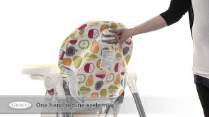 Graco High Chair Blossom Video by Graco Contempo High Chair Mothercare Youtube