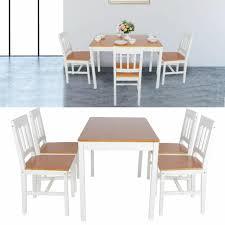 esstisch küchentisch mit 4 stühlen esszimmergruppe esstischset modern tisch stuhl set