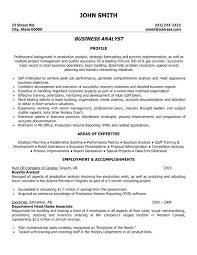Good Resume Examples For Analyst Packed With Banking Business Sample Best Accounting