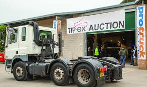 Protruck Auction A Success At Tip-ex | Commercial Motor