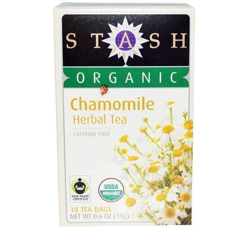 Stash Organic Herbal Tea - Chamomile, 18 Tea Bags