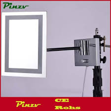 led lighted magnifying makeup mirror led light square wall mount