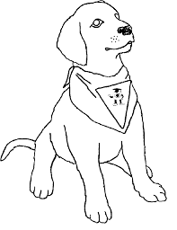 Coloring Pages Dog 6196