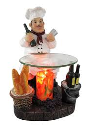 Fat Italian Chef Kitchen Decor by Chef Electric Oil Warmer Novelty Concept Fat Chef Winery