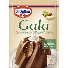 dr oetker gala feiner schoko mandel pudding 2x 55 g