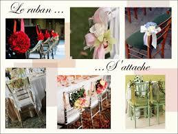 ruban pour noeud de chaise idees decoration chaise banc eglise