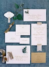 Beautiful wedding invitation suite by Sideshow Press Jose Villa