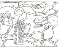 11 Cool Winter Animals Coloring Pages