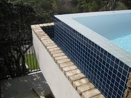 Waterline Pool Tile Designs by Pool Tile Gardner