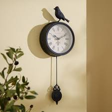Wayfair Decorative Wall Clocks by Chic Bird Wall Clock 124 Martiz Cuckoo Bird Pendulum Wall Clock
