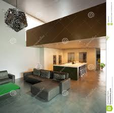 100 Modern House Interiors Beautiful In Cement Stock Image Image Of