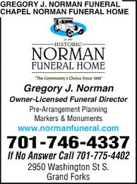 Gregory J Norman Funeral Chapel Norman Funeral Home Grand Forks