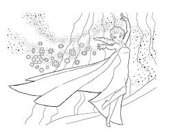 Printable Colouring Pictures Of Frozen 375
