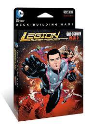 dc comics deck building game crossover pack 3 legion of super