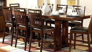 counter height dining table sets with leaf drop storage vs regular