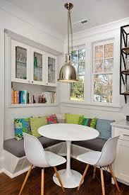 schicke sitzecke küche für kleine küche in weiß sitzecke