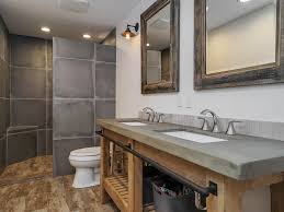 Rustic Bathtub Tile Surround by Rustic Bathroom Complex Granite Tile Floors Zillow Digs Zillow