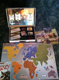 Game Board And Box For Risk Legacy