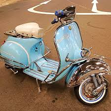 Vespa Vintage Cowl Crashbar Front And Rear Side Mods Cars On