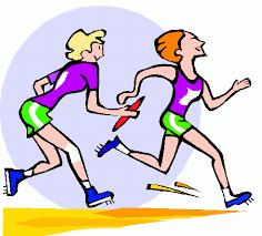 Racing winning a race clipart free clipart image image