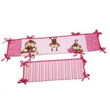 Little Bedding by NoJo 3 Little Monkeys Portable Crib Bumper