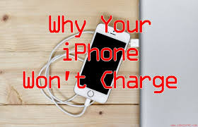 My iPhone Won t Charge