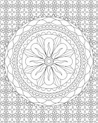 Abstract Coloring Pages For Teenagers Difficult Unique Detailed Pictures Of