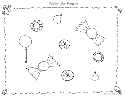 Color The Candy Coloring Page By BNute Productions