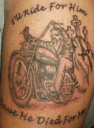 3D Biker Tattoo Awesome