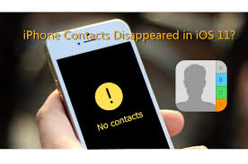 Solved]Lost Contacts after iOS 11 Update
