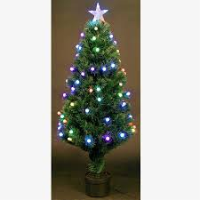 7ft Fiber Optic Christmas Tree by Fibre Optic Decorated Christmas Tree U2013 Decoration Image Idea