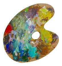 Paint Pallet Png Vintage Artist Palette Chairish Jpg Library Download