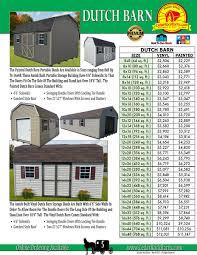 painted dutch barn storage shed storage sheds garages shed