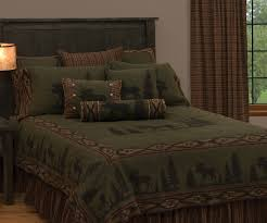 Wooded River Bedding by Moose Bedding Clearance Bedding Compare Prices At Nextag