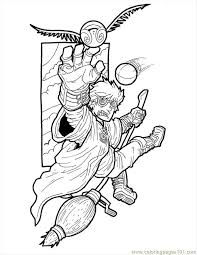 Harry Potter Small Coloring Page